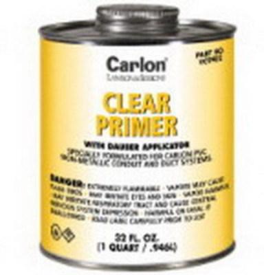 Thomas & Betts (T&B) VC9903 Carlon VC9903 PVC Primer With Dauber Applicator; 1 pt, Can, Clear
