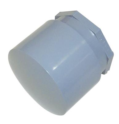 Topaz Electrical Fittings 1084 1084 TPZ 1 1/4 PVC END CAPS
