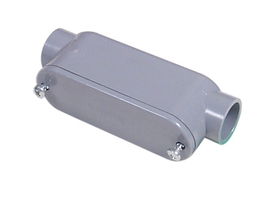 Topaz Electrical Fittings 1184 1184 TPZ 1-1/4 PVC TYPE C JCT BOX