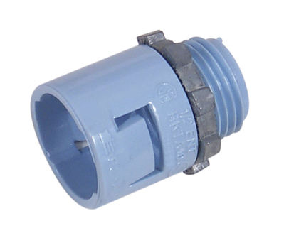 Topaz Electrical Fittings 1512 1512 TPZ 3/4 PVC ENT TERM ADPT