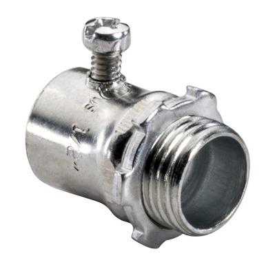 Topaz Electrical Fittings 631S 631S TPZ 1/2 STL S/SCR EMT CONN