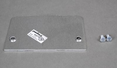 Wiremold  500B Walker 500B Blank Faceplate 525 Series