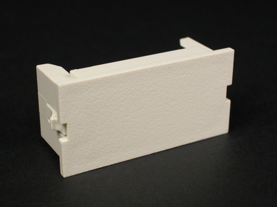 Wiremold  CM2-BL-WH Wiremold CM2-BL-WH 2A Blank Module White
