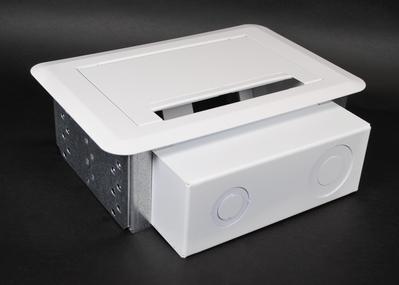 Wiremold  EFSB2 Wiremold EFSB2 Evolution Series Wallbox; White