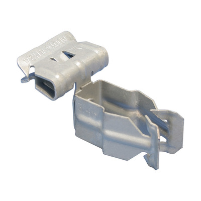 nVent ERICO 12P24SM 12P24SM ERICO H-PSM CONDUIT TO FLANGE CLIP SIDE MOUNT 3/4IN EMT 0.866IN-1.181IN (22-30 MM) OD 0.125IN-0.25IN (3-8 MM) FLANGE
