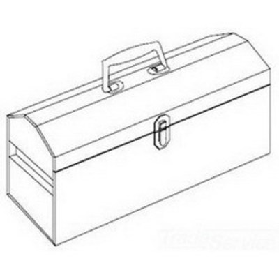 nVent ERICO T396 Erico T396 Cadweld® Tool Box; 19 x 8 Inch