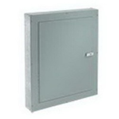 nVent HOFFMAN ATC12126F Hoffman ATC12126F Telephone Cabinet; NEMA 1, Flush, 12 Inch x 6 Inch x 12 Inch, 16/14/12 Gauge Galvanized Steel Body, Mild Steel Door, ANSI 61 Gray, Polyester Powder Paint on Front
