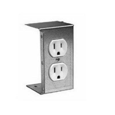 nVent HOFFMAN DBDXK Hoffman DBDXK L-Box® Duplex Outlet Kit; 15 Amp