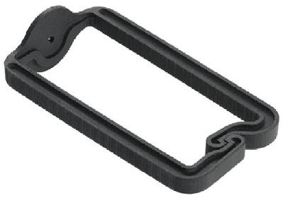nVent HOFFMAN ECM3DR10 Hoffman ECM3DR10 DRing 3inch Plastic Black