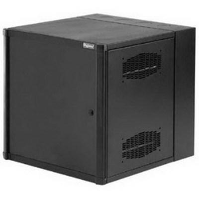 nVent HOFFMAN EWMS362418 Hoffman Pentair EWMS362418 Accessplus® II Cabinet; 24 Inch Width x 36 Inch Height x 18 Inch Depth, 19-Rack Unit, Wall Mount, Steel, RAL 9005 Black