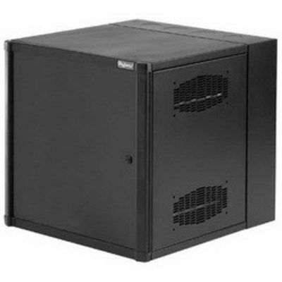 nVent HOFFMAN EWMS482418 Hoffman Pentair EWMS482418 Accessplus® II Cabinet; 24 Inch Width x 48 Inch Height x 18 Inch Depth, 26-Rack Unit, Wall Mount, Steel, RAL 9005 Black