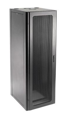 nVent HOFFMAN NCW2188 Hoffman NCW2188 Pentair® Tapped Communication Cabinet; 800 mm Width x 800 mm Depth x 2100 mm Height, Steel Frame/Doors/Sides, RAL 9005 Black