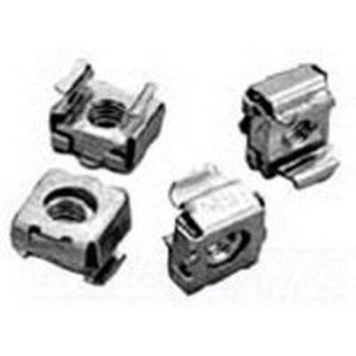 nVent HOFFMAN P1032CN250 Hoffman P1032CN250 Cage Nut; Steel, Plated Steel, Silver