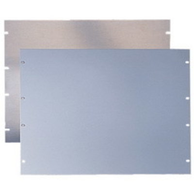 nVent HOFFMAN P19RP3UP Hoffman P19RP3UP PROLINE™ Rack Panel; Steel, Polyester Powder-Coated, Light Gray