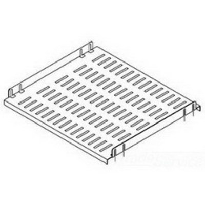 nVent HOFFMAN P24SH5 Hoffman P24SH5 PROLINE™ Fixed Shelf; 150 lb, 14 Gauge Steel, RAL 7035 Gray