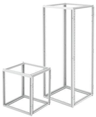 nVent HOFFMAN PF2085 Hoffman Pentair PF2085 Proline® Single-Bay Frame; 800 mm Width x 2000 mm Height x 500 mm Depth, Rack Mount, 12 Gauge Steel, RAL 7035 Light Gray