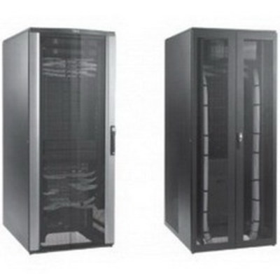 nVent HOFFMAN PNS21810B Hoffman Pentair PNS21810B Proline™ 6509 and 6513 Series Network Switch Cabinet; 800 mm Width x 1000 mm Depth x 2150 mm Height, Steel Top and Side, RAL 9005 Black