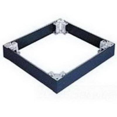 nVent HOFFMAN PPB146 Hoffman PPB146 Proline™ 100-mm Plinth Base; 399 mm Width x 559 mm Depth, RAL 9005 Black, Textured Polyester Powder Paint