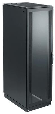nVent HOFFMAN PSC20611B Hoffman Pentair PSC20611B Proline™ Server Cabinet; 42-Rack Unit, 16/14 Gauge Steel, RAL 9005 Black