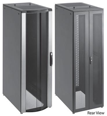 nVent HOFFMAN PSCPC2069B Hoffman PSCPC2069B Proline® Server Cabinet; 42U Rack, 35.4 Inch Width x 78.370 Inch Height x 23.940 Inch Depth, 16/14 Gauge Steel, Low Gloss Polyester Powder Coated, RAL 9005 Black Textured