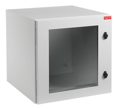 nVent HOFFMAN PTRW482424G2 Hoffman PTRW482424G2 PROTEK® Cabinet; Wall Mount, 23.62 Inch Width x 48.54 Inch Height x 24.02 Inch Depth, 14 Gauge Steel, Light Gray