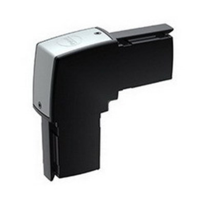 nVent HOFFMAN S2ME Hoffman S2ME Elbow; Die-Cast Aluminum, RAL 9005 Black, For Use with SYSPEND® 281-MAX Suspension System